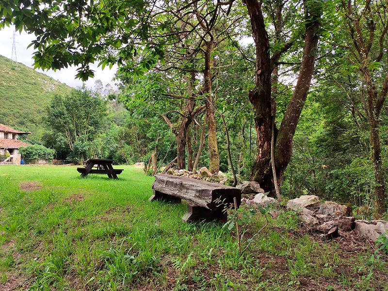 Entorno exterior de las casas rurales