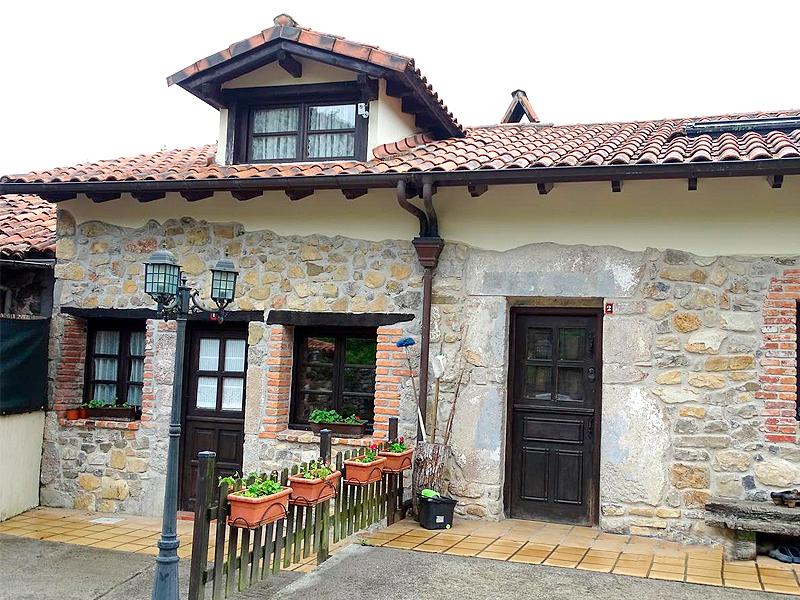 Exterior casas rurales Pico Moru