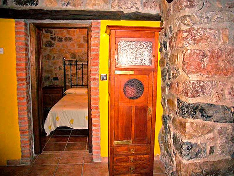 Entrada dormitorio apartamento 3